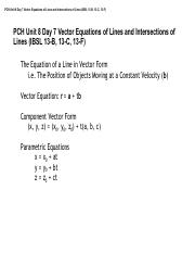 PCH Unit 8 Day 7 Intersections of Vector Equations of Lines.pdf