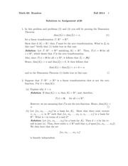 MATH 60 Fall 2014 Assignment 20 Solutions