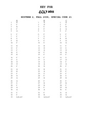 FALL 2008 Midterm 2 Answers
