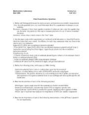 BiochemLabF2012.FirstExamReviewQuestions