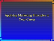 undergraduate marketing your career
