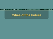 15_Cities of the Future