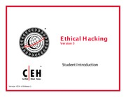 CEH v5 Module 00  Student Introduction