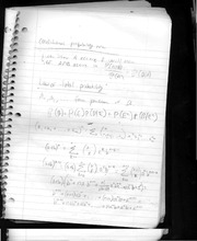 class notes- law of total probability