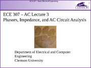ECE 307 AC Lecture 3 with notes