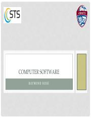 G10 - ICT - T1 - Computer Software