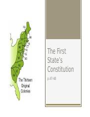 The First State's Constitution