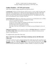 Lab 12 - Webpage