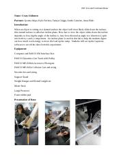lab 9 inclined plane lab report
