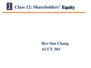Session 12- Class Notes - Equity (1)