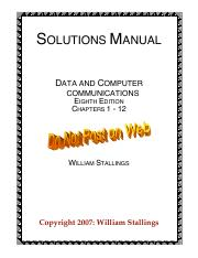 Data and Computer Communications 2