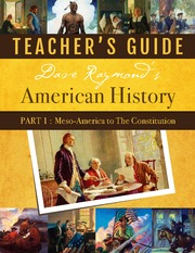 American History Part 1 Teacher Guide