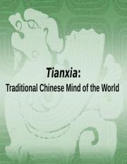 Jan 27_Traditional Chinese Mind of the World PPT