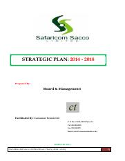 REVISED STRATEGIC PLAN 2014 - 2018 short verson - Feb 2014 (2)