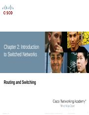 CCNA 2 Routing and Switching Chapter 2