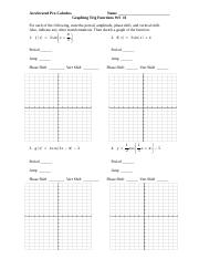 Worksheet L(Inv Trig Funct) - Accelerated Pre-Calculus Unit 2 ...