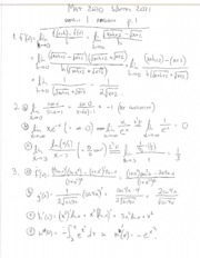 Solutions for final exam