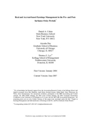 SSRN-Real and Accrual-based EM