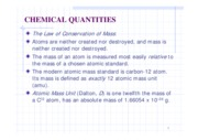 (5)Chemical Quantities