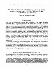 11.DIVIDEND POLICY AND ITS RELATIONSHIP TO INVESTMENT AND FINANCING POLICIES EMPIRICAL EVIDENCE.pdf