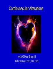 Cardiac Alterations CH13