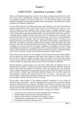 case study operation management ikea