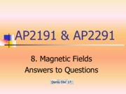 8_Magnetic Field_answers