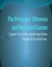 08. The Prisoners' Dilemma and Repeated Games(1).pptx