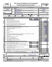1120S-K-1 - 671113 Schedule K-1(Form 1120S 2015 Department of the ...