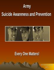 Suicide Awareness and Prevention briefing w-Speaker Notes.ppt