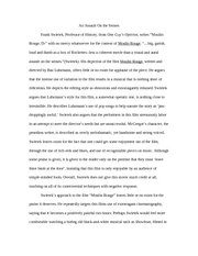 Moulin Rouge Essay Rough Draft