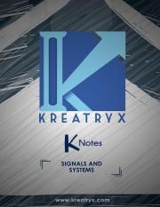 Signals and Systems EE K-Notes.pdf