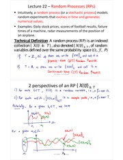L22-Random Processes-Characterization and Stationarity