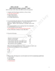 Practice Test 3 answer key
