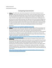 Comparing Governments.docx