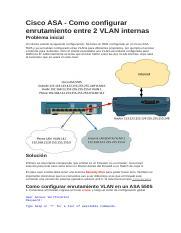 CONFIGURACION DE ASA 5505 docx - CONFIGURACION DE UN ASA