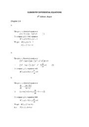 ELEMENTRY DIFFERENTIAL EQUATIONS 2.6