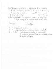 S.I. Notes Ch. 1-4