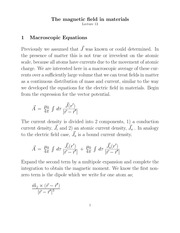 Lecture 13 on Introduction to Classical Electrodynamics