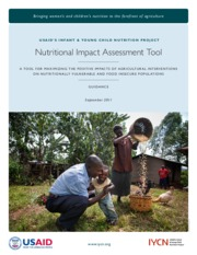 12_IYCN, 2011, Nutritional Impact Assessment Tool Guidance_EN.pdf