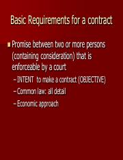 common law contract review 2