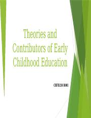 Theories of Early Childhood Education.pptx