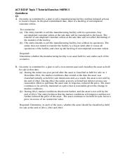ACT B331F Topic 7 NCA Held for Sale Tutorial Question v2.docx