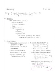 CH 105 Science Notes
