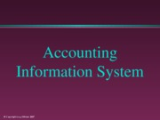 An Accouting Information System