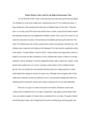 critical lense essay