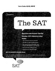 may 2006 sat essay