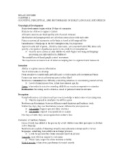 SPA223 - Ch.4 Notes
