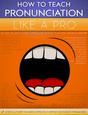 how-to-teach-pronunciation-like-a-pro