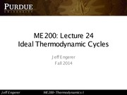 24- Ideal Thermodynamic Cycles